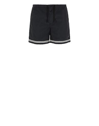 STONE ISLAND B0146 Swimming trunks Man Black EUR 145