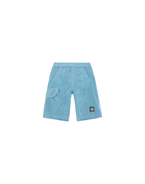 Swimming trunks Man B0113 NYLON METAL Front STONE ISLAND KIDS