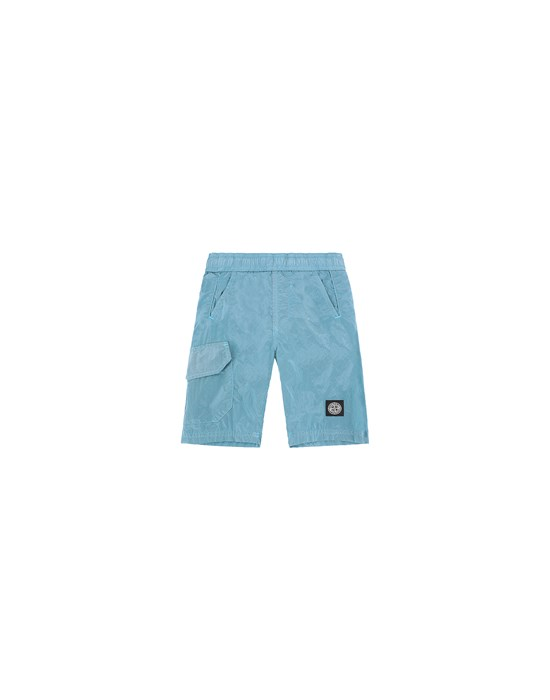 Swimming trunks Man B0113 NYLON METAL Front STONE ISLAND BABY