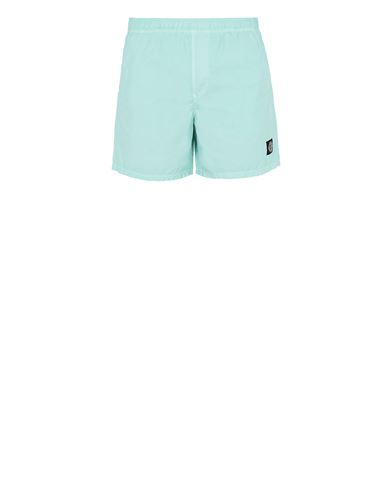 STONE ISLAND B0946 Swimming trunks Man Aqua EUR 145