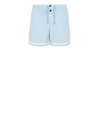 STONE ISLAND B0146 Swimming trunks Man Sky Blue EUR 120