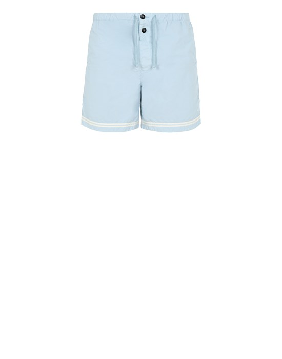 STONE ISLAND B0146 Swimming trunks Man Sky Blue