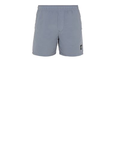 STONE ISLAND B0946 Swimming trunks Man Pastel Blue EUR 145