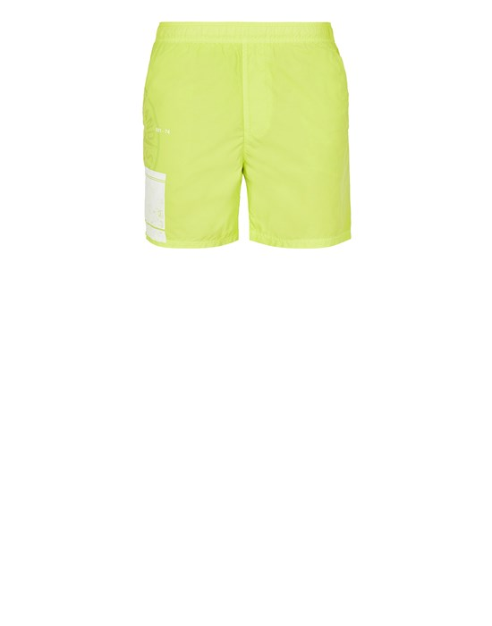 STONE ISLAND B0997 'BLOCK SWIMWEAR'  Swimming trunks Man Pistachio Green