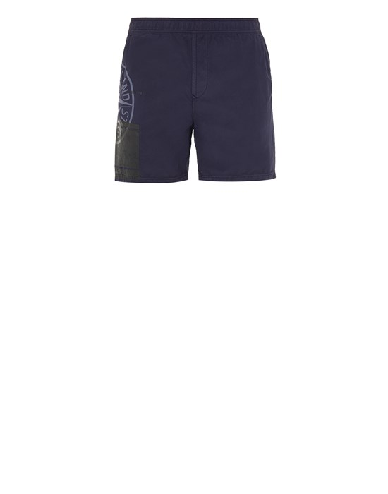 STONE ISLAND B0997 'BLOCK SWIMWEAR'  Swimming trunks Man Blue