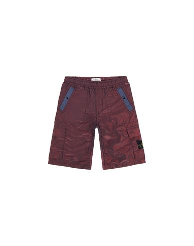 STONE ISLAND JUNIOR Swimming trunks FW Man L0337 NYLON METAL COLOURED WEFT f