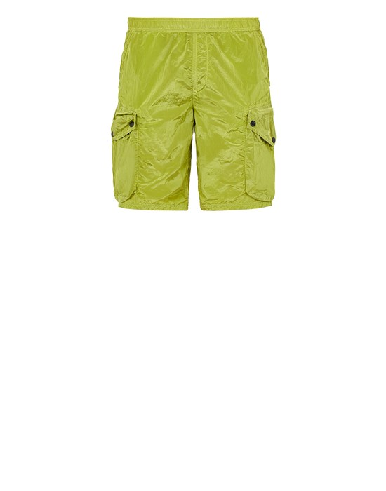 Swimming trunks Man B0443 NYLON METAL Front STONE ISLAND