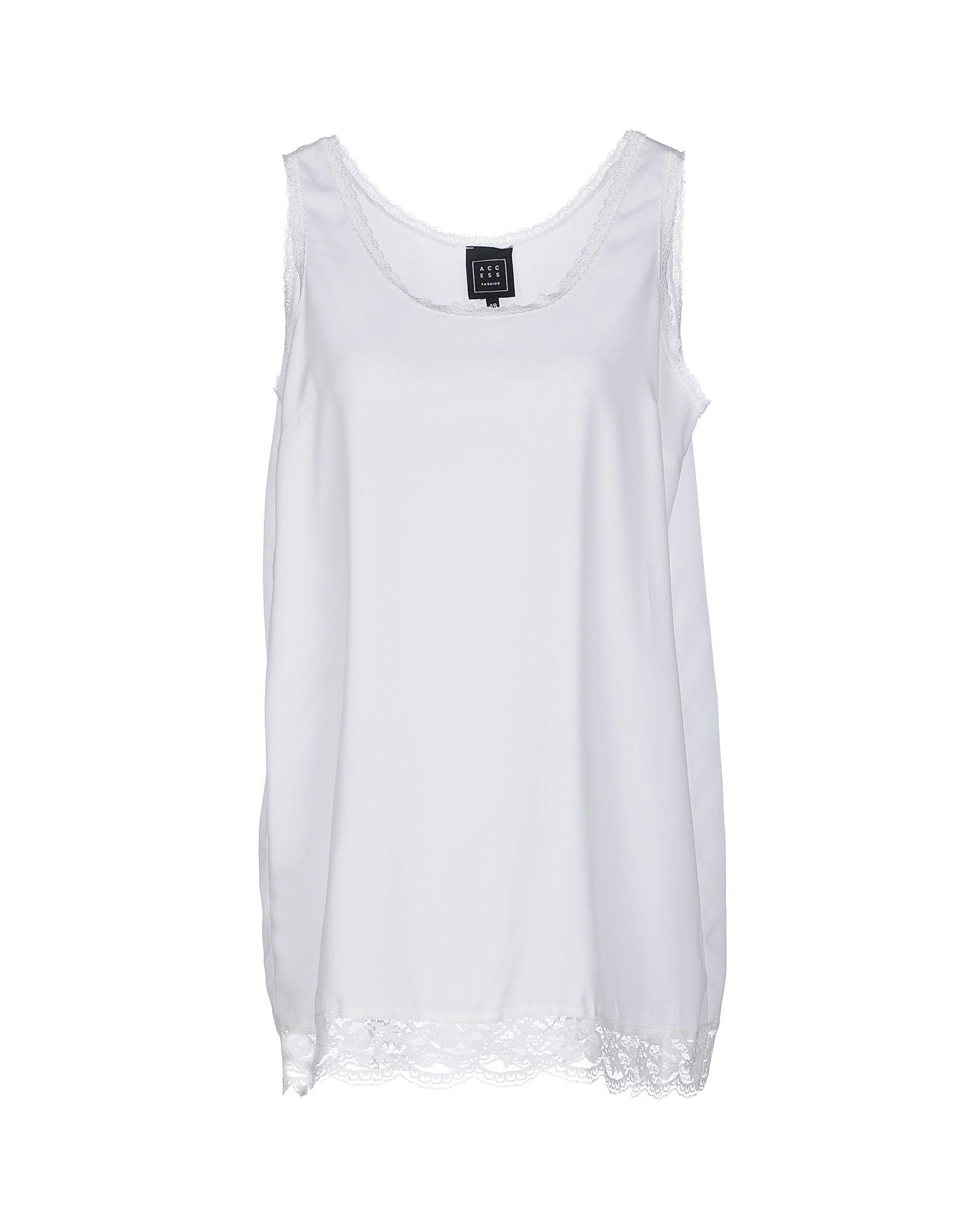 ACCESS Damen Nachthemd Farbe Weiß Größe 8