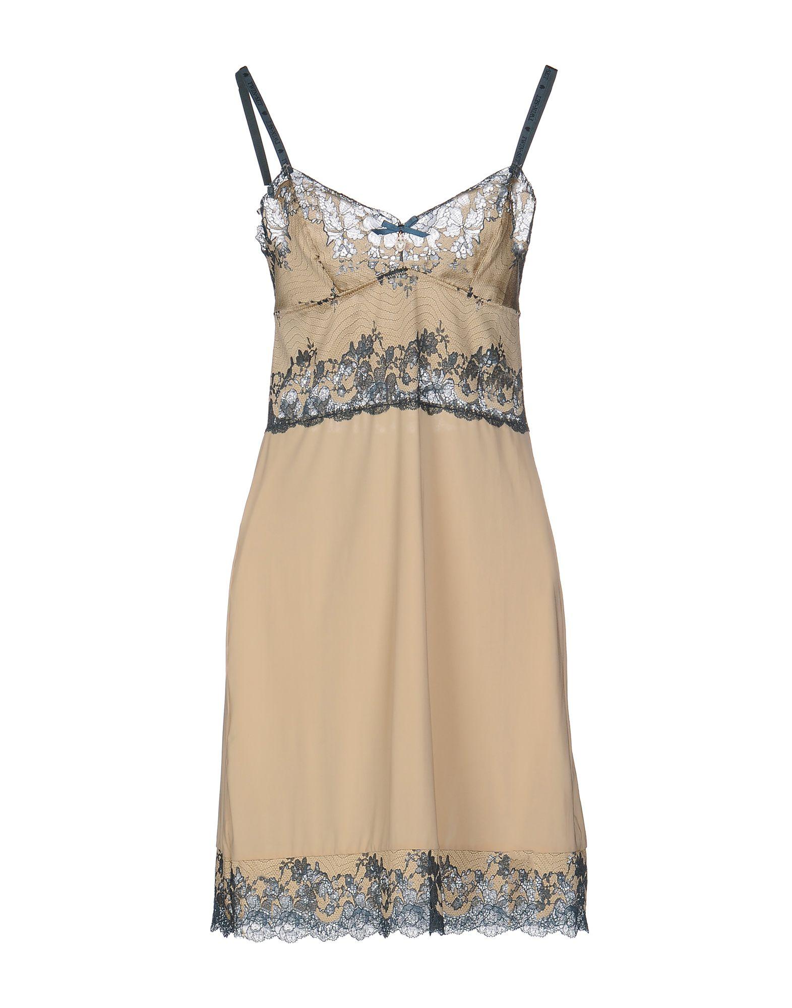 TWIN-SET LINGERIE Ночная рубашка lace insert cut out strappy lingerie set