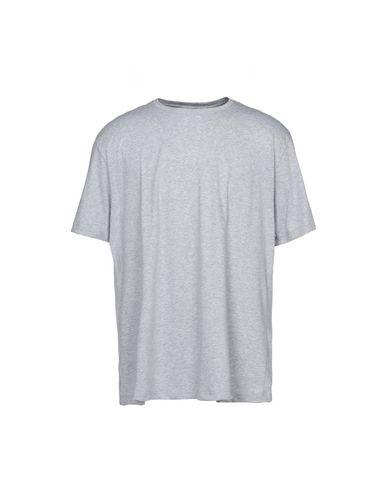 HANRO メンズ アンダーTシャツ グレー S コットン 100%