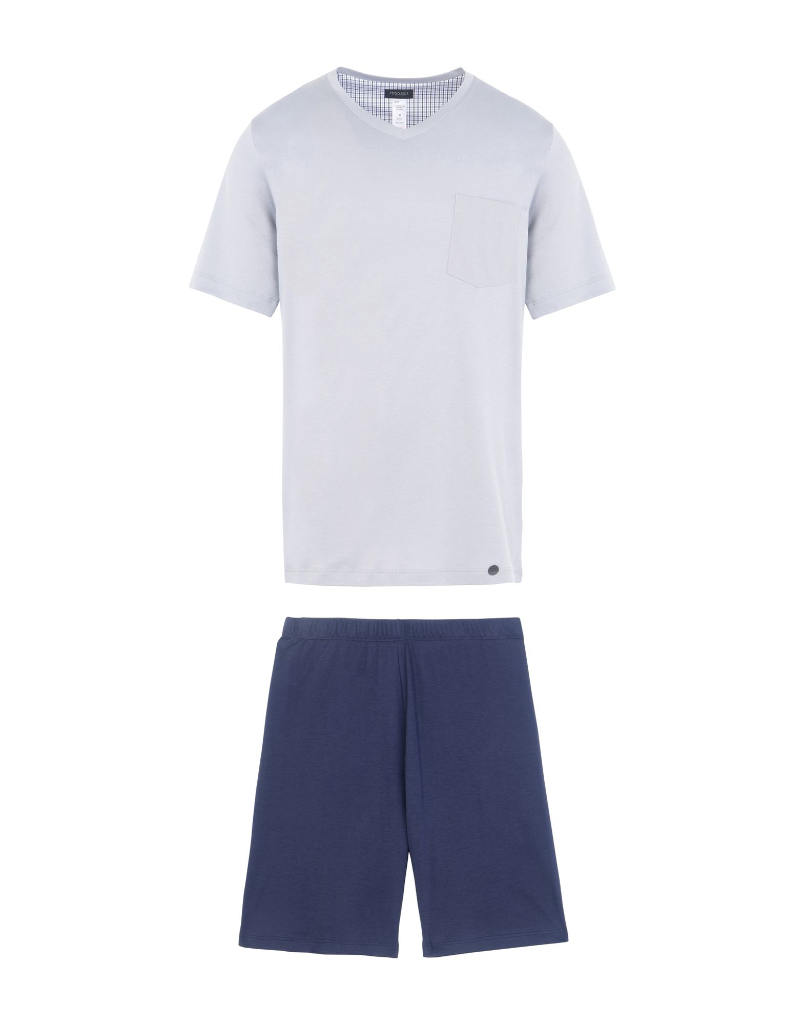 HANRO Herren Pyjama Farbe Grau Größe 6