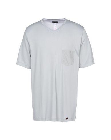 HANRO メンズ パジャマ ライトグレー S コットン 100%