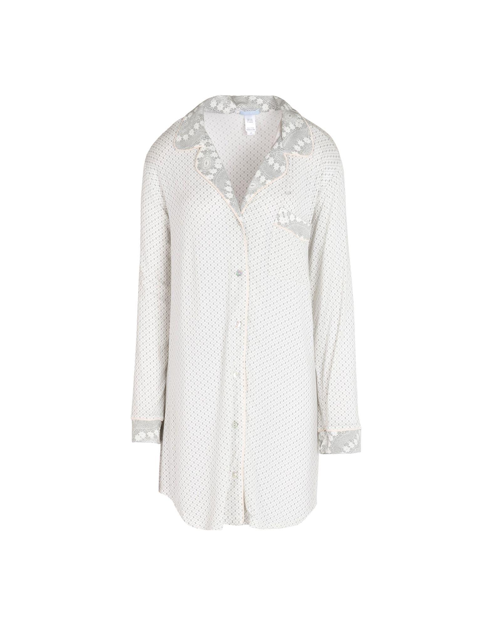 EBERJEY Damen Nachthemd Farbe Hellgrau Größe 5