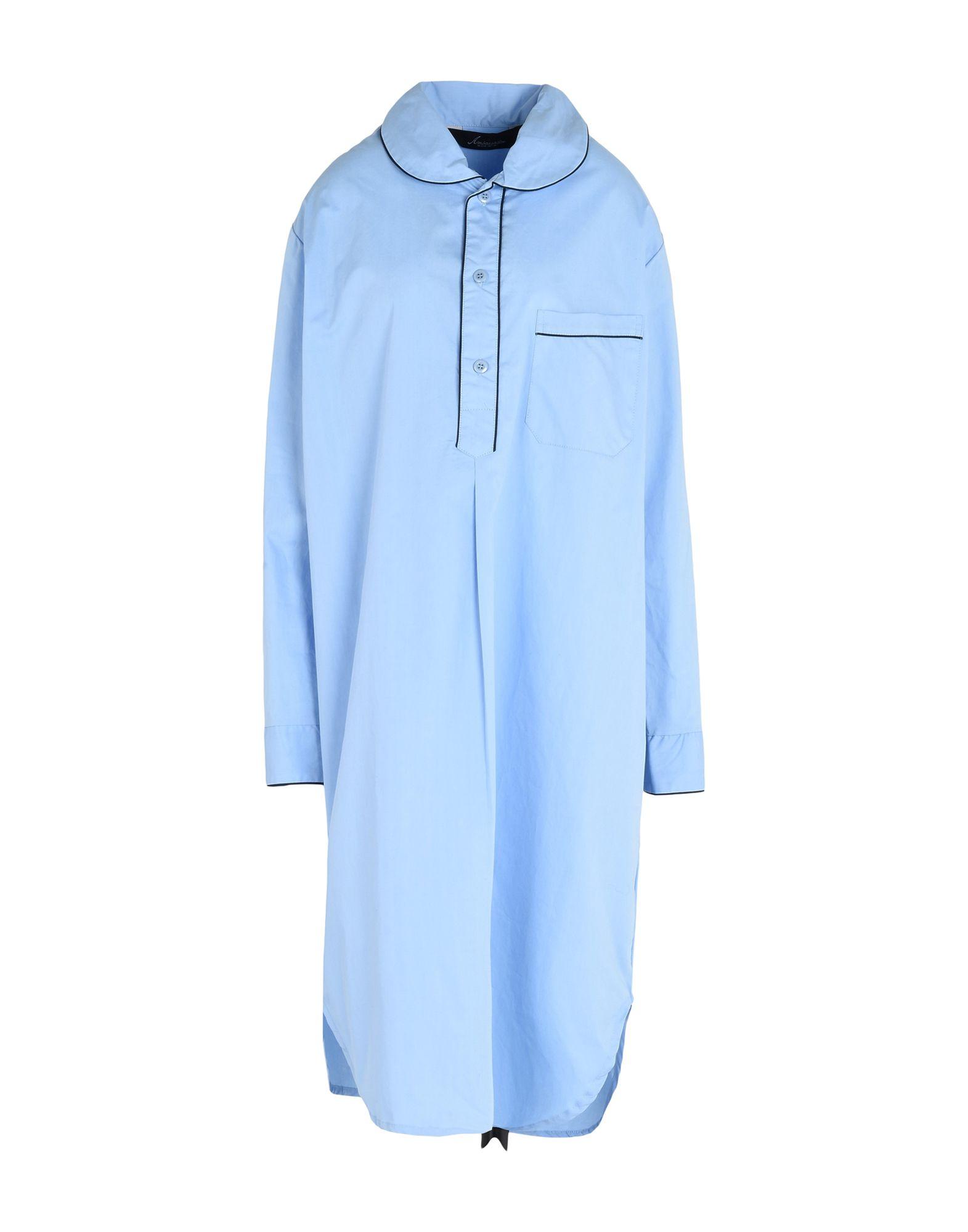 AMBASSADOR Damen Nachthemd Farbe Himmelblau Größe 8