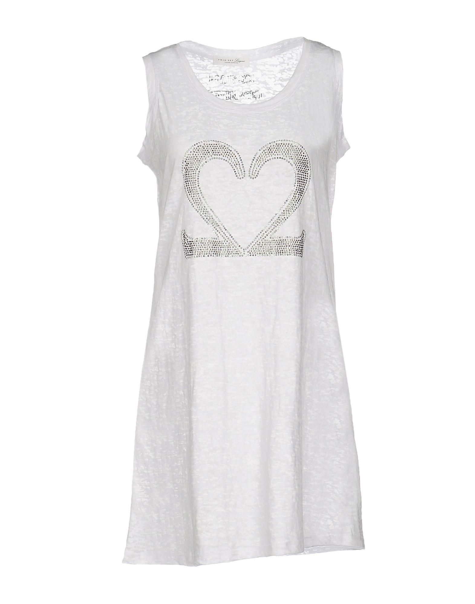 TWIN-SET LINGERIE Ночная рубашка lace cut out lingerie bra set