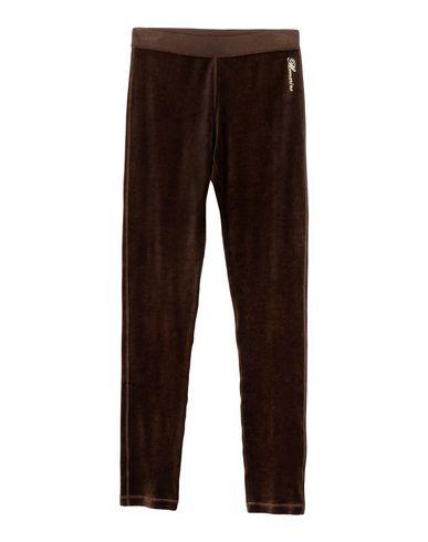 BLUMARINE UNDERWEAR Pyjama femme. chenille, logo, effet laminé, couleur unie de base, taille normale, sans poche