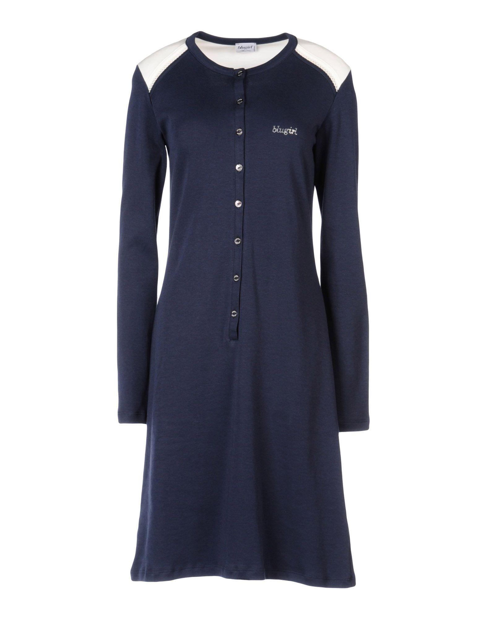 цена BLUGIRL BLUMARINE UNDERWEAR Ночная рубашка онлайн в 2017 году
