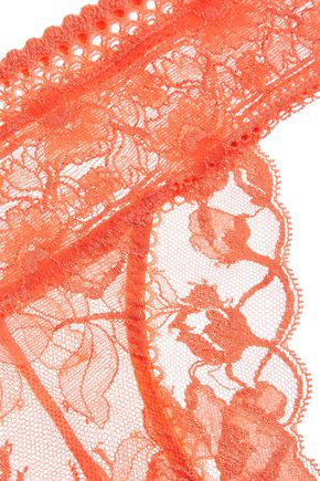 STELLA McCARTNEY Naomi Gliding low-rise lace briefs