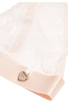 MIMI HOLLIDAY by DAMARIS Lace soft-cup triangle bra