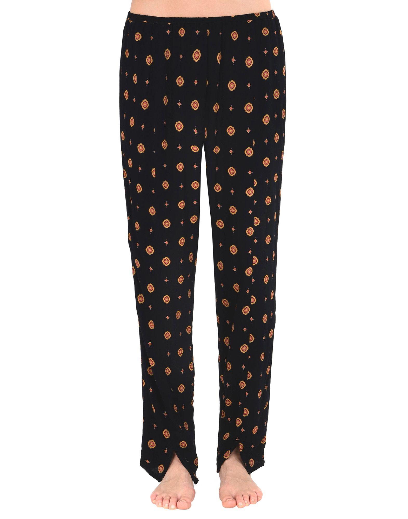 《送料無料》FREE PEOPLE レディース パジャマ ブラック XS レーヨン 100%