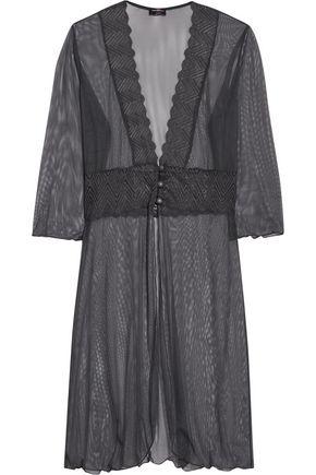COSABELLA Delano lace-trimmed tulle robe