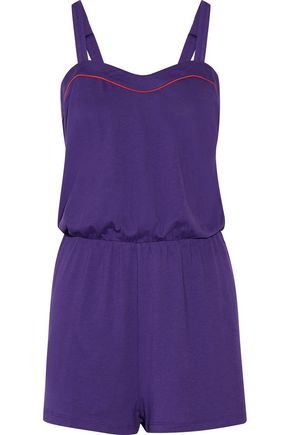 COSABELLA Dream Bella Pima cotton and modal-blend playsuit