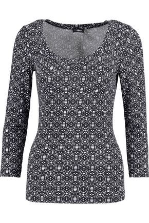 COSABELLA Samarra printed stretch-jersey pajama top