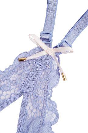 HEIDI KLUM INTIMATES Eden stretch-lace demi-wire bra