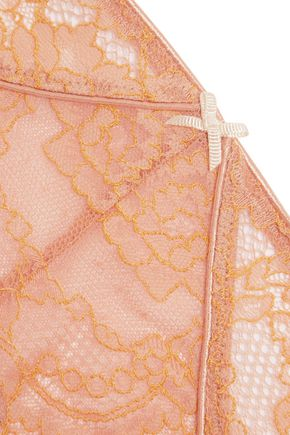 HEIDI KLUM INTIMATES Opal Dream low-rise lace and tulle briefs