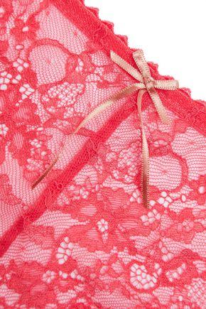 HEIDI KLUM INTIMATES Mid-rise lace briefs