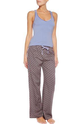 HEIDI KLUM INTIMATES Ocean Vibes printed twill pajama pants