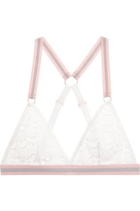 MIMI HOLLIDAY by DAMARIS Rock Candy lace soft-cup triangle bra
