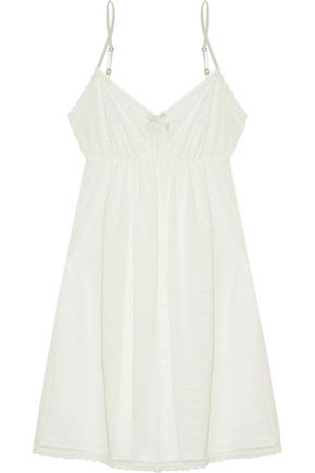 EBERJEY In the Clouds lace-trimmed jersey chemise