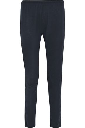 EBERJEY Estelle lace-paneled jersey pajama pants