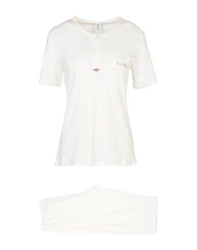 Фото - Женский халат или пижаму BLUGIRL BLUMARINE UNDERWEAR белого цвета