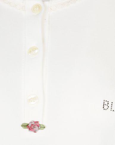 Фото 2 - Женский халат или пижаму BLUGIRL BLUMARINE UNDERWEAR белого цвета