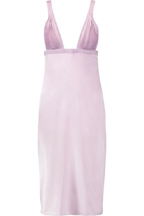 LA PERLA Silk-blend nightdress
