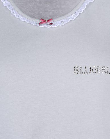 Фото 2 - Женский халат или пижаму BLUGIRL BLUMARINE UNDERWEAR светло-серого цвета
