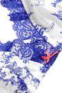 HEIDI KLUM INTIMATES Embrasse La ruched silk-chiffon soft-cup bra