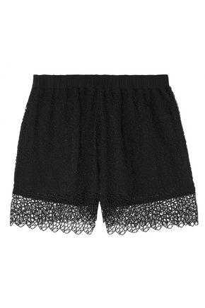 LA PERLA Macramé pajama shorts