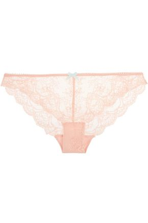 HEIDI KLUM INTIMATES Odette low-rise lace briefs