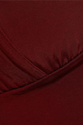 GANNI Jersey soft-cup bra