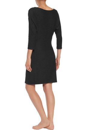 COSABELLA Charly draped jersey hooded dress