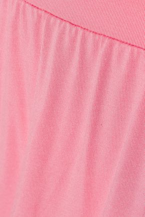 COSABELLA Cheyenne cropped lace-trimmed jersey pajama pants