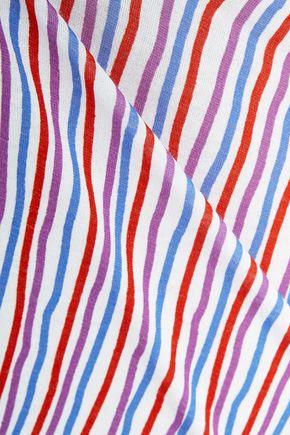 COSABELLA Mili striped stretch-cotton jersey chemise