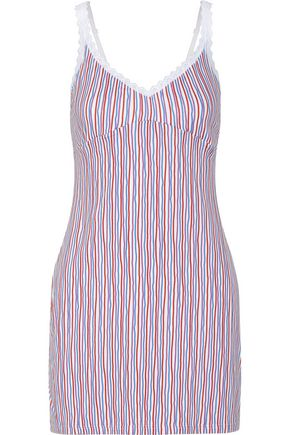 COSABELLA Mili striped stretch-cotton jersey chemise