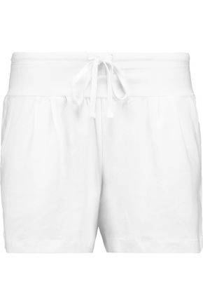 DKNY Stretch-Pima cotton pajama shorts
