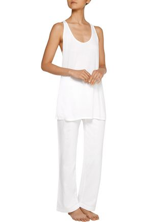 YUMMIE by HEATHER THOMSON® Pima cotton and modal-blend pajama top