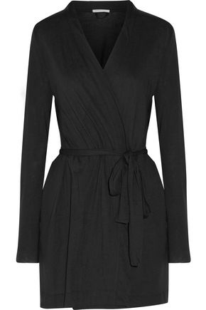 YUMMIE by HEATHER THOMSON® Pima cotton and modal-blend jersey robe