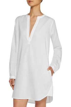 YUMMIE by HEATHER THOMSON® Cotton-broadcloth nightshirt
